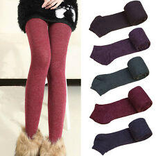 Women Solid Color Winter Warm Pantyhose Ladies Velvet Tights Casual Hosiery