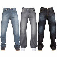 New APT Mens A31/ A42 Button Fly Creased Boot Cut Jeans All Waist & Leg Sizes