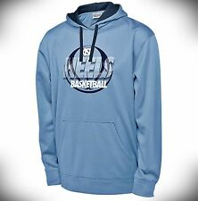 Men's North Carolina Tar Heels UNC Basketball Pullover Hoodie SIZES S-XXL Blue