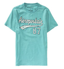 AEROPOSTALE MENS T-SHIRT EMBROIDERED LOGO AERO NYC TEE TOP SHIRT APPLIQUE 7064
