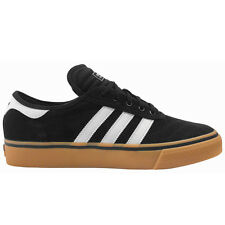ADIDAS ADI EASE PREMIERE BLACK WHITE GUM MENS CASUAL SKATEBOARD SHOES SNEAKERS