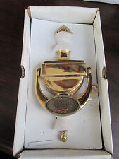 The TOUR CHAMPIONSHIP Logo Brass Door Knocker Unused PINEAPPLE complete in box