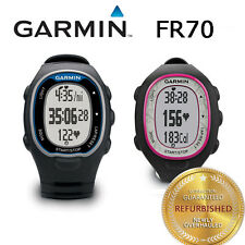 Garmin Forerunner FR70 Fitness Training Sport Watch Black/Blue Black/Pink