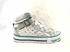 SKECHERS  TWINKLE TOES SWEETHEART SOLE LIGHT UP HI TOP TWINKLE TOES KIDS SHOES