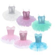 New Girls Ballet Dance Costume Tutu Party Leotard Skirt Toddler Dancewear Dress