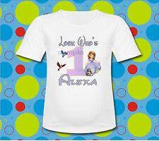 Personalized Look Whos Sofia the First T Shirt Sofia Birthday Shirt all sizes