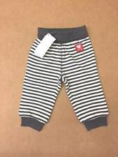 NWT Gymboree Boys Cupid Sweat Pants Gray and White Stripe Size 6-12-18-24 M