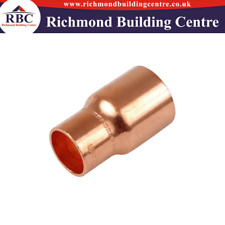 15mm OR 22mm/28mm END FEED COPPER FITTINGS,PLUMBING HOT WATER,ELBOW,COUPLING,TEE
