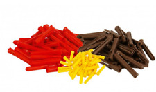 TALON WALL FIXING PLUGS, EXPANSION, DRILL FIXING 7MM BROWN 5MM YELLOW, 5.5MM RED