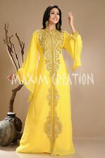 New Long Evening Wear Party Caftan Dress For Women By Maxim Creation 3845