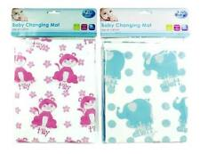 FIRST STEPS FOLDING BABY CHANGING MAT WATERPROOF WIPE CLEAN NAPPY BAG