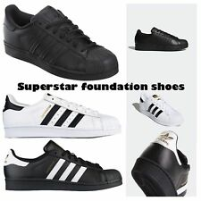 New Adidas Superstar Foundation Originals Retro Style Shell Toe Shoes Trainers