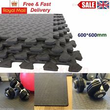 32/192 SQ FT INTERLOCKING EVA FOAM MATS TILES GYM PLAY GARAGE WORKSHOP FLOOR MAT