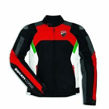 Genuine Ducati Corse Tex Summer Mesh Textile Motorcycle Jacket by Dainese