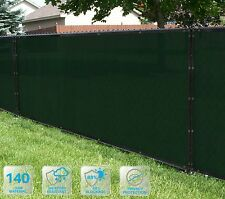 Customized Privacy Screen Fence Windscreen  Shade Cover Fabric Garden 4'FT 5-100