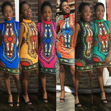 Dashiki Dresses Traditional African Dress For Women Clothing