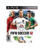 FIFA Soccer 12 2012 - Playstation 3 PS3 video game COMPLETE VG