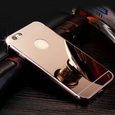 Luxury Aluminum Ultra-Thin Rosegold Mirror Metal Case For iPhone 6 6S{bn160