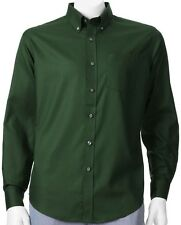 NWT Croft & Barrow Solid Button-Down Pineneedle Green Shirt Mens Big/Tall LT XLT