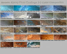 Metallic Mica Epoxy Concrete Garage Floor Countertop Paint Coating Pigment Kit z