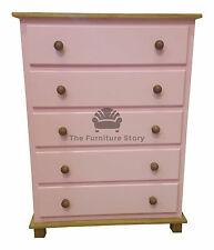 CHEST OF DRAWERS PAINTED HANDMADE UK GRANTHAM - NO FLATPACK - ASSEMBLED