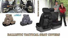 COVERKING CORDURA BALLISTIC TACTICAL CUSTOM SEAT COVERS FOR HUMMER H3