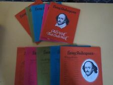 Living Shakespeare Orig 1962   5-LP  Box Set With Books Plays  Taming of Shrew +