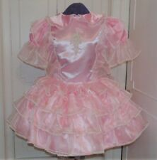 Precious Pink Adult Baby Sissy Dress Aunt D
