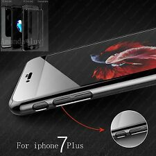 Hybrid 360° Hard Thin Anti-scratch Case Tempered Glass Cover For iPhone 6 7 Plus