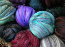 Wool Colorblend Top 2 oz Roving, Felt or Spin Sliver by Ashland Bay