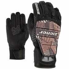 ZIENER Race glove Racing gloves Gloves Leather Grib grey 15 new