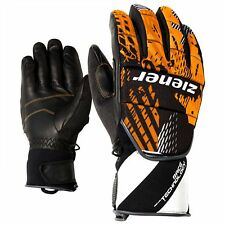 ZIENER Race glove Racing gloves Leather Garden orange 738 new