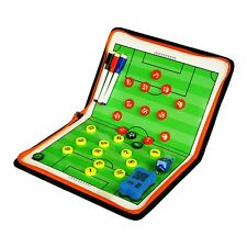 PU Cover Football Soccer Sports Coaches Tactic Folder Skill Board Managers Kit