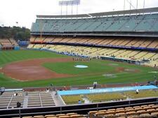 2 TICKETS CHICAGO WHITE SOX@ DODGERS 8/15 *INFIELD LOGE BOX VIP 139 Row C AISLE*