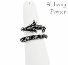 Vis Viva (Living Power) Ring - Alchemy Gothic Dragon Totem/Talisman/Amulet