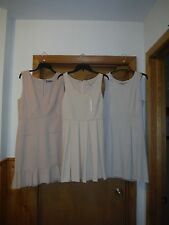 Sleeveless Dresses LC Lauren Conrad and Jennifer Lopez size 16.8. Light Cream Be