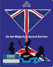 On Her Majestys Secret Service   *Steelbook* New * (Blu-ray Disc, Incl Dig Copy