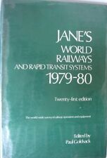 USED (LN) Jane's World Railways and Rapid Transit Systems 1979-1980