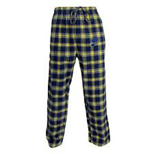 St. Louis Blues NHL Men's Plaid Pajama Pants with Embroidered Logo