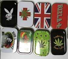 New Tobacco Tin Case Aluminium Smoking Cigarette Tobacco Storage Cool Design