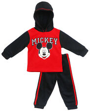Disney Infant Boys Mickey Face Long Sleeve and Pant Set