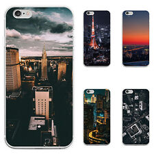3D CITY NIGHT SCENERY CASE COVER FOR IPHONE 6S 7 PLUS SAMSUNG GALAXY S7 ANTIQUE