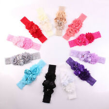 New Lace Baby Headband Chic Flower Princess Girls Headband Hair Accessories SS