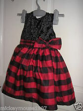Brand New Toddler  baby Girls festive Party Dress age18-23  months bnwt