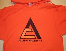 Allis Chalmers Triangle Full Front Hooded Pullover Sweatshirt (6 colors)