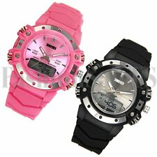 Multifunction Climing Outdoor Sports Electronic Dual Display Wrist Student Watch
