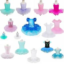 New Kids Clothing Girls leotard Costumes Ballet Tutu Princess Party Dress Dance