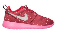 NIKE WOMENS ROSHE RUN SIZE 4 5 5.5 TRAINERS GIRLS MAX FREE RUN AIR FUCHSIA PINK