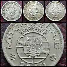 PORTUGUESE MOZAMBIQUE 2.50 2½ ESCUDOS COINS - CHOOSE YOUR YEAR! FREE UK POST!
