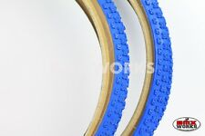 "Kenda K50 Comp 3 Skinwall Blue Tyres 20"" x 1.75"" & 20"" x 2.125"" Sold In Pairs"